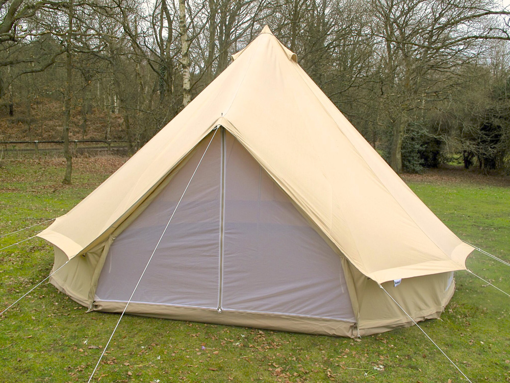 4m Zig Bell Tent Pro Karma Canvas