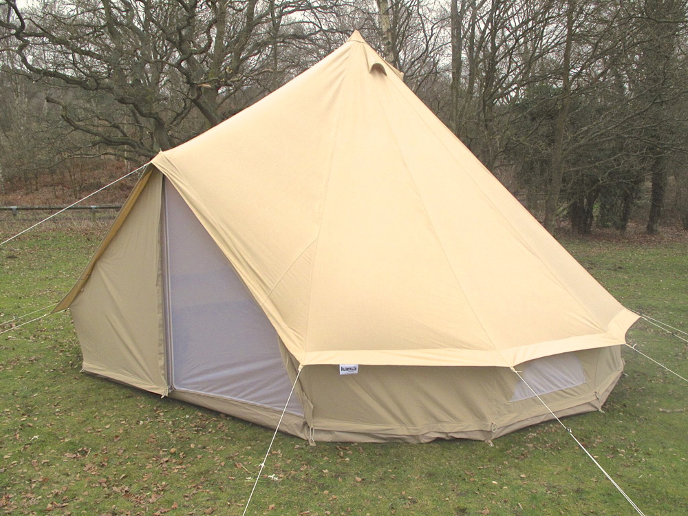 6m zig bell tent karma canvas for Canvas tent plans