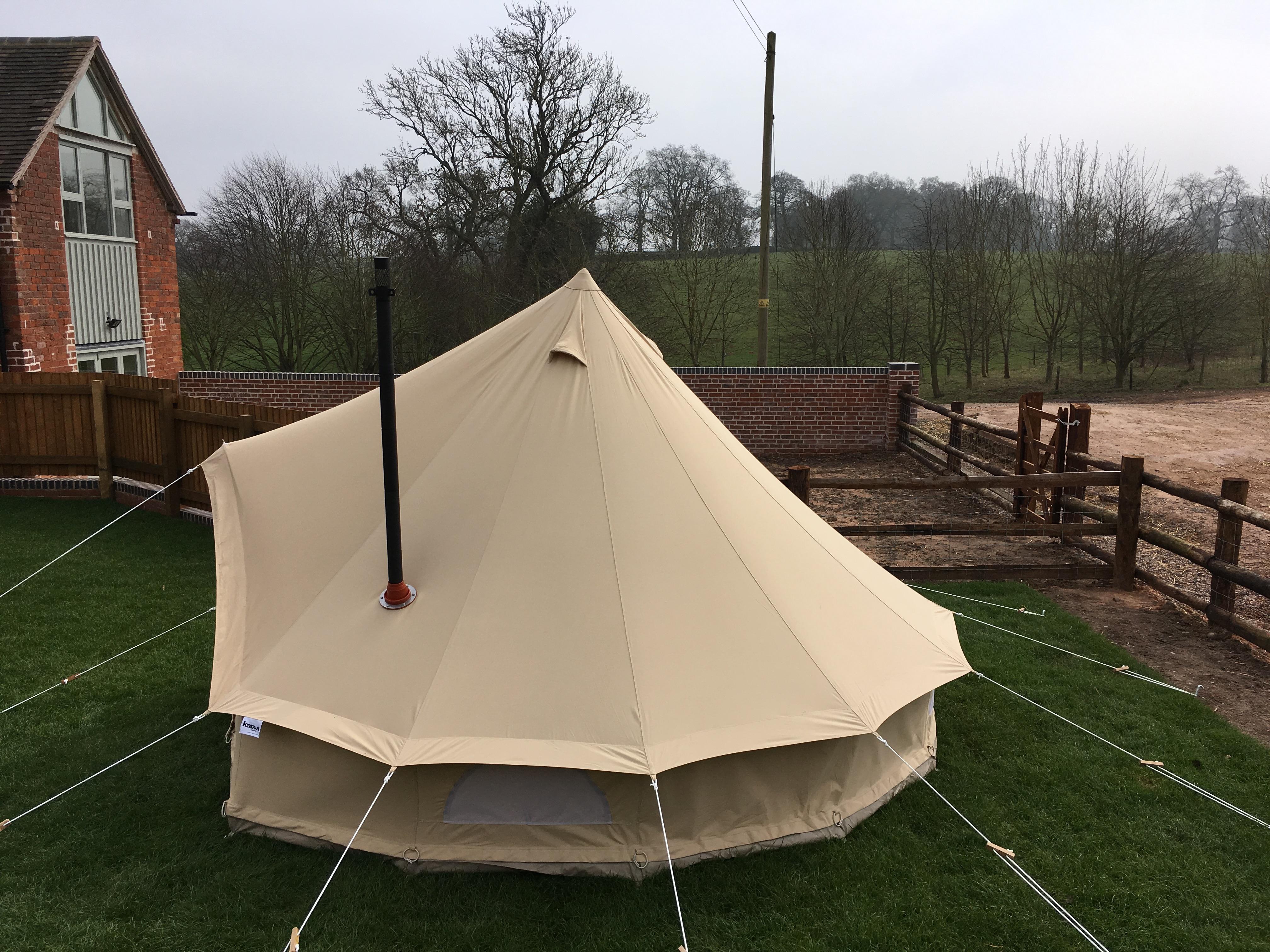 5m Zig Bell Tent Karma Canvas