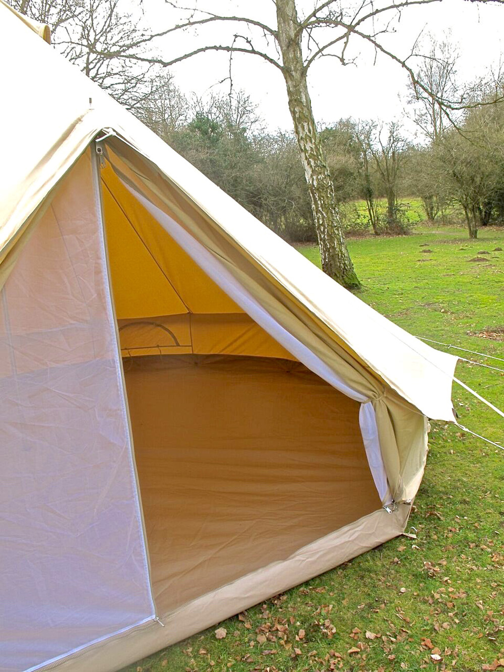 6m Zig Bell Tent Karma Canvas