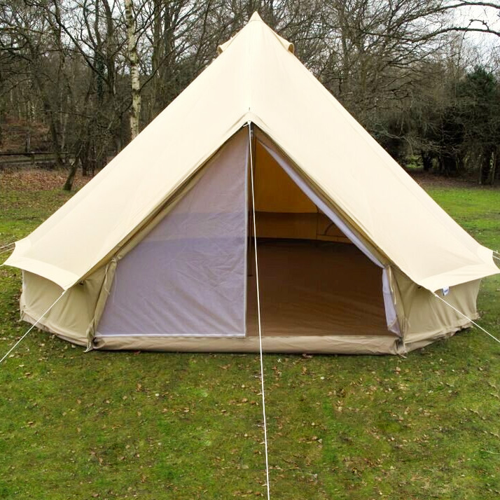 5m zig bell tent karma canvas for How to make a canvas tent