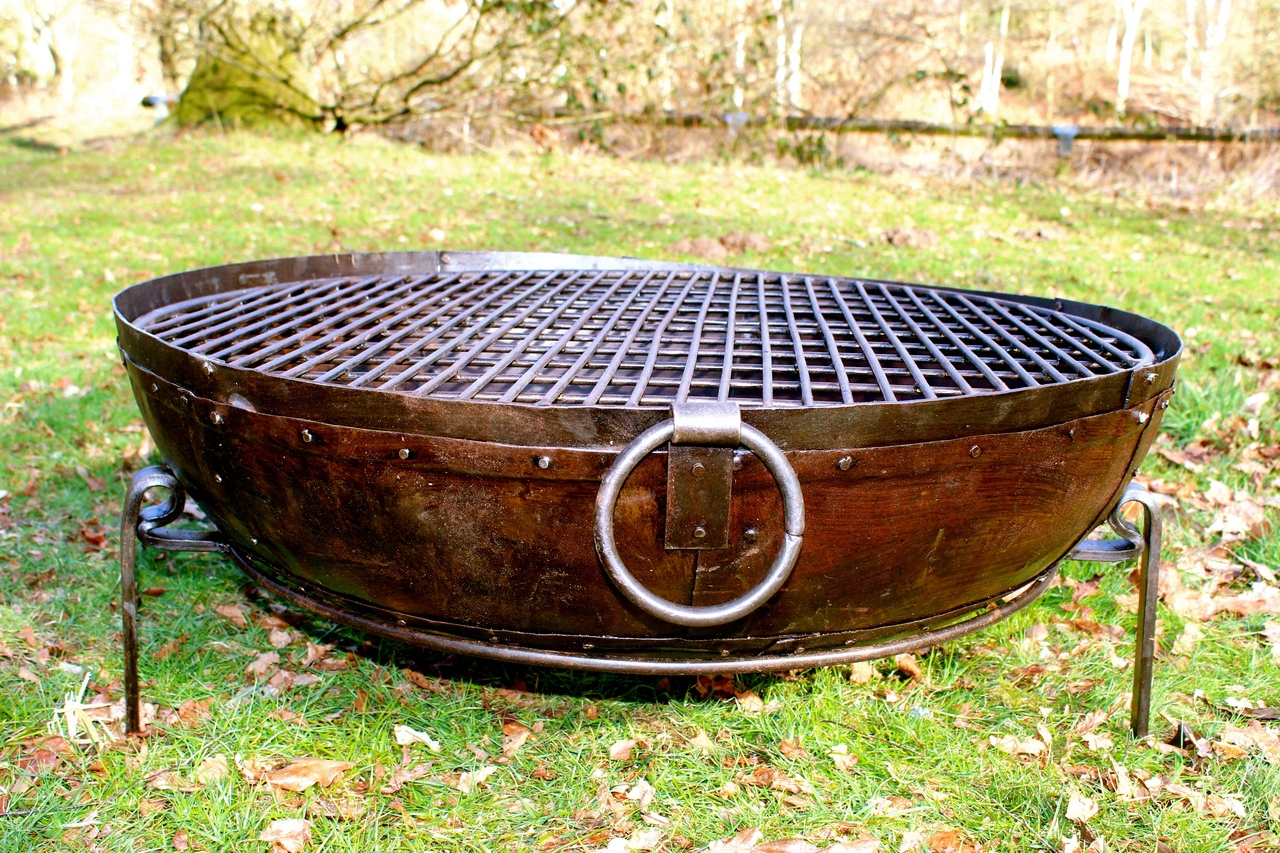 Indian Kadai Fire Bowl 90cm Karma Canvas