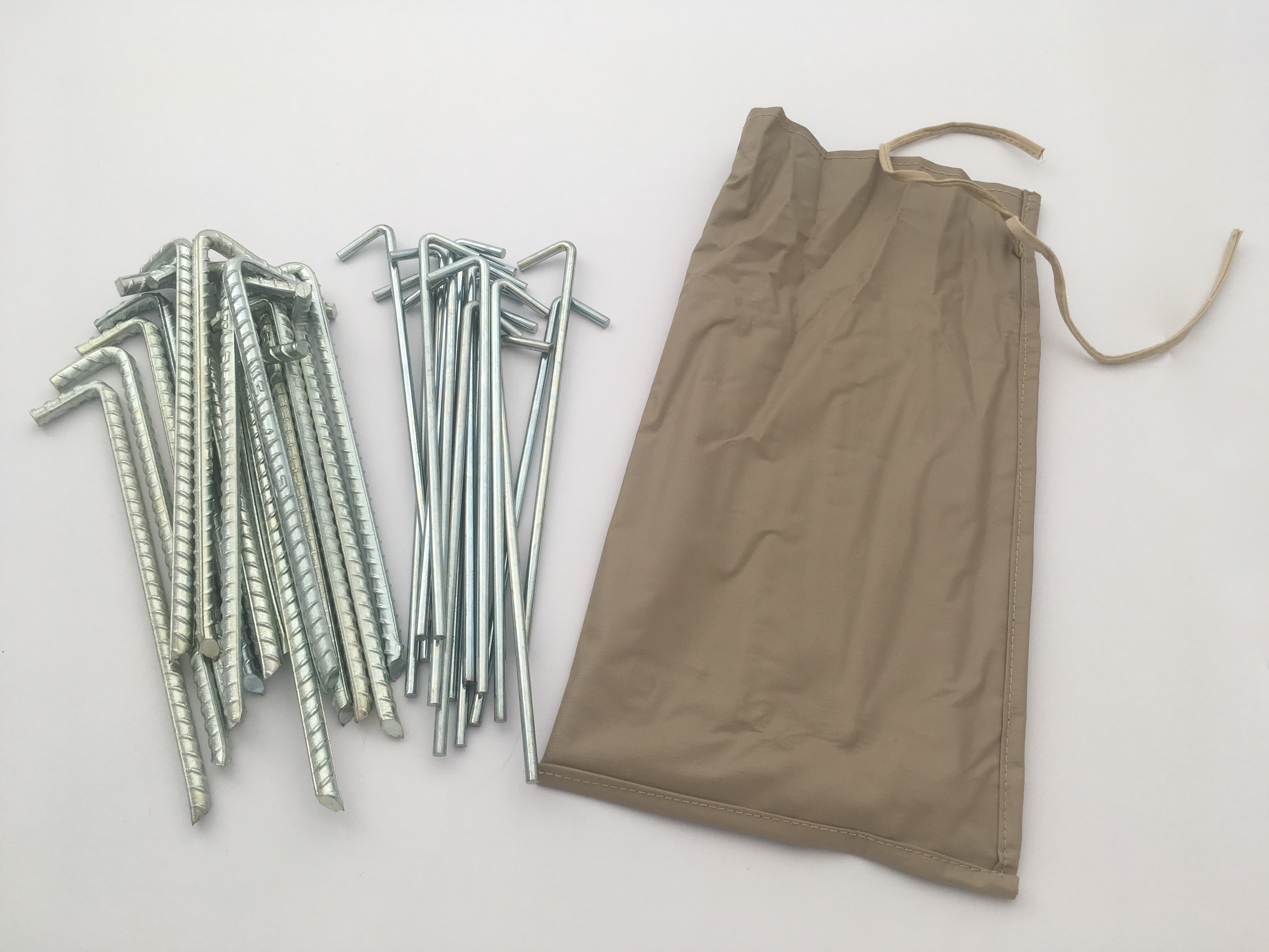 Heavy Duty Ribbed Tent Pegs by Bell Tent Boutique