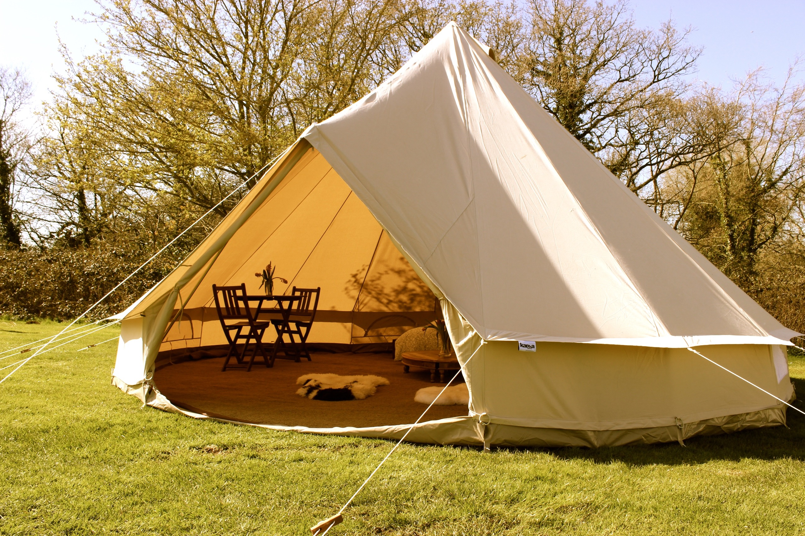 5m Zig Bell Tent Karma Canvas
