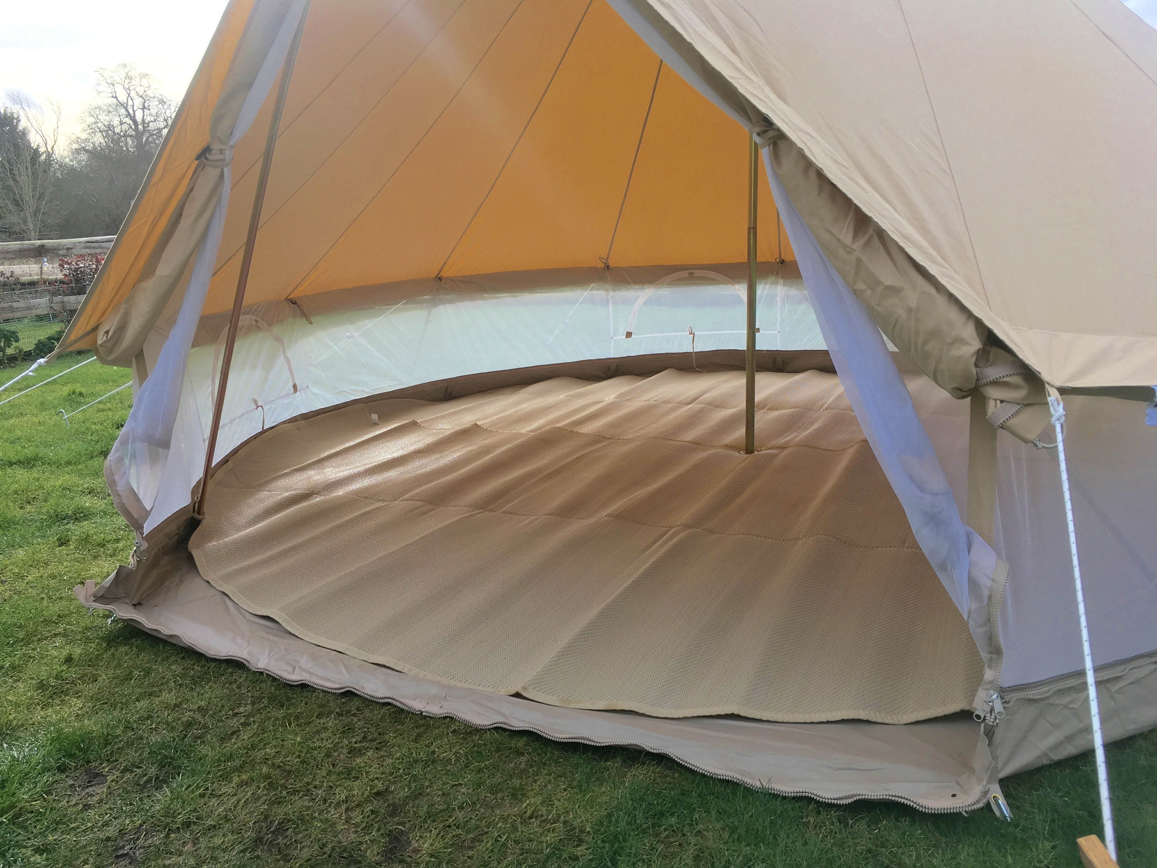 5m Zig Pro 360 Mesh Bell Tent Karma Canvas